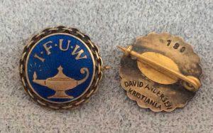 Deadline for IFUW Pins Draw